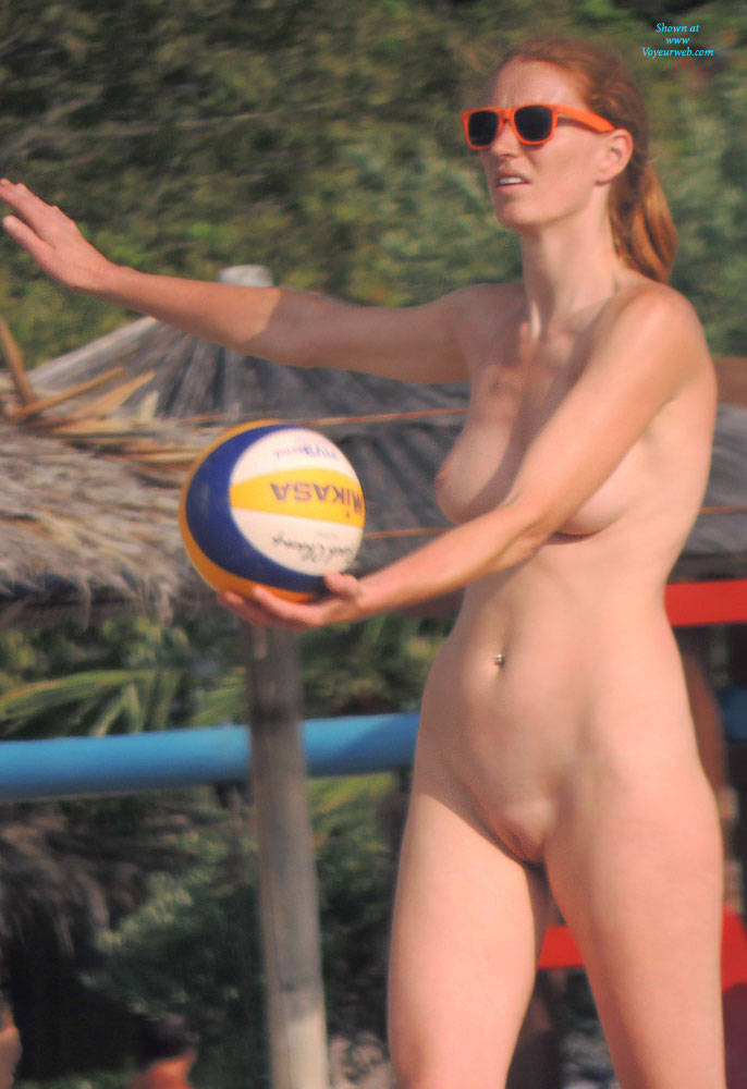 Beachvolleyball nude pics, how do girls make themselves cum