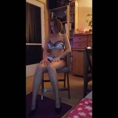 My First Dance For You - Big Tits, Brunette, High Heels Amateurs, Shaved