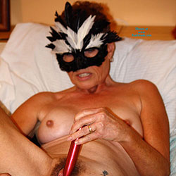 Maggie At 59 yrs - Big Tits, Masturbation, Toys, Bush Or Hairy