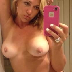 Large tits of my ex-girlfriend - Angela