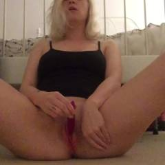 Waiting For Me - Blonde, Masturbation, Toys