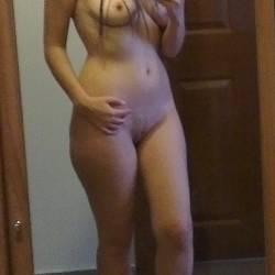 Medium tits of my girlfriend - Chido