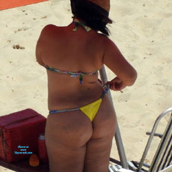 Fat Ass From Janga Beach, Brazil - Beach