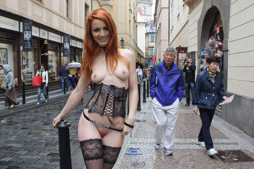 Redhead In Urban Nude - Exposed In Public, Firm Tits, Flashing, Heels, Nipples, Nude In Public, Redhead, Shaved Pussy, Showing Tits, Hairless Pussy, Sexy Body, Sexy Girl, Sexy Legs, Sexy Lingerie , Nude In Public, Naked, Sexy, Redhead, Sexy Lingerie, Tits, Pussy