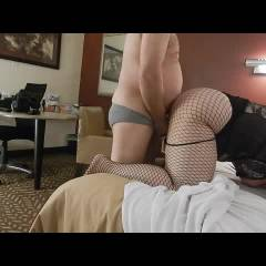 Doggy In Motel - Lingerie