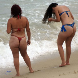 Asses From Recife City, Brazil - Beach, Bikini Voyeur