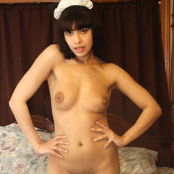 My Man's Personal Maid - Big Tits, Brunette, Shaved