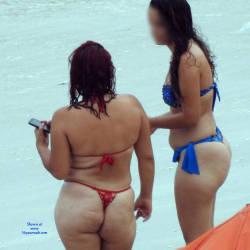 Bikinis From Brazilian Beach - Beach, Bikini Voyeur
