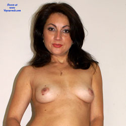 Anna (37) - Little Black Dress - Big Tits, Brunette, Striptease