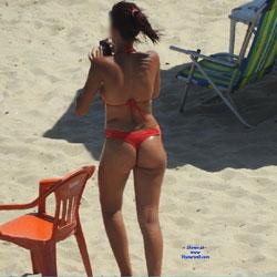 Orange Bikini From Recife City, Brazil