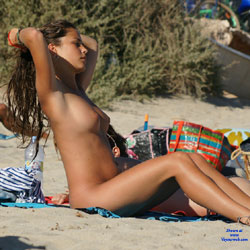 What A Beautiful Day! - Beach, Brunette