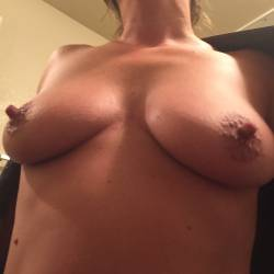 Large tits of my wife - Karen
