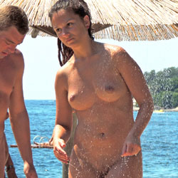 Public Nude Shower And More - Beach, Big Tits