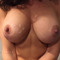 Large tits of my girlfriend - Calijane