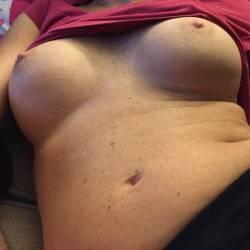 Large tits of a neighbor - Jenn