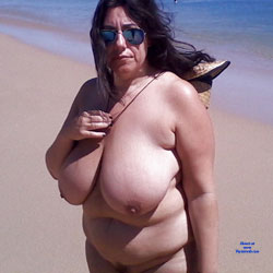 Lovely Soraya - Bush Or Hairy, Beach, Brunette, Big Tits, BBW
