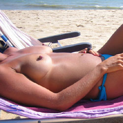 My Wife On The Beach!! - Big Tits, Wife/Wives