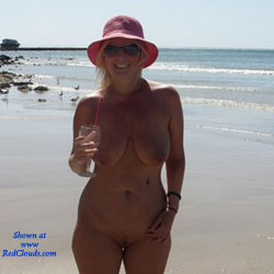 Fun At The Beach - Beach, Big Tits, Shaved
