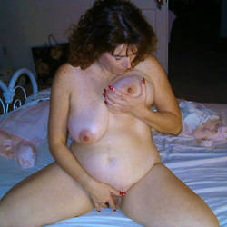 Very large tits of my ex-girlfriend - Donna