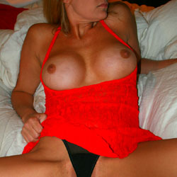 Black And Red - Big Tits, See Through