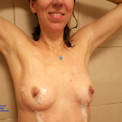 Hotel Shower - Medium Tits