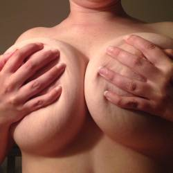 Extremely large tits of my girlfriend - HotGF