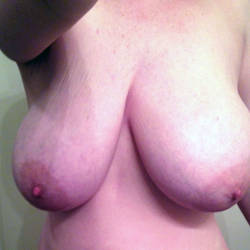Very large tits of my girlfriend - Girlfriend