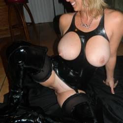 Very large tits of my wife - scorpio