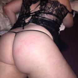 My wife's ass - FIRECRACKER