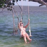 Key's Outer Island - Bikini, Wet, Beach Voyeur