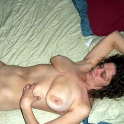 55 Year Old Wife And Mom - Big Tits, Blowjob, Brunette, Wife/Wives