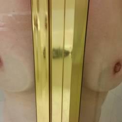 Medium tits of my wife - Mrs. Golfman