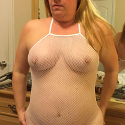 Fishnet Anyone? - Big Tits, Lingerie