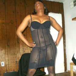 Black Lingerie - Ebony, High Heels Amateurs, Lingerie, See Through