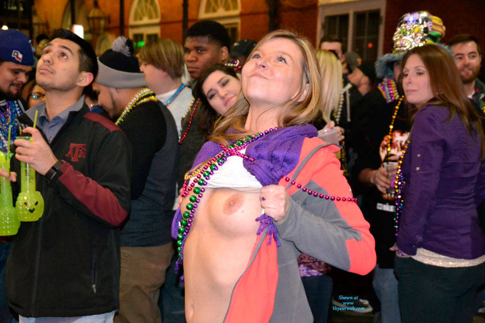 Opinion bourbon street naked pictures really. happens