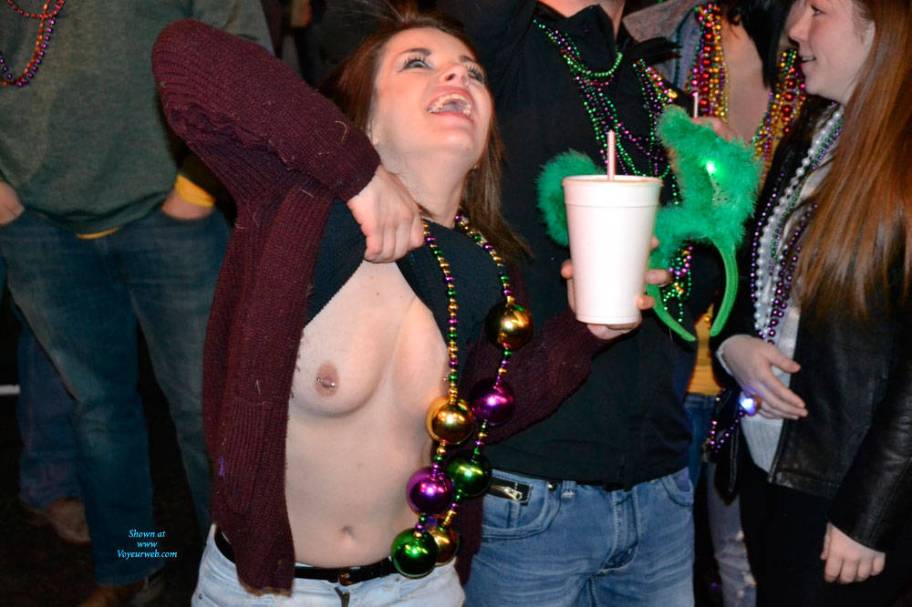 Mardi Gras Nude Female 75