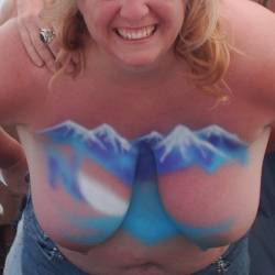 Very large tits of my wife - misscandy