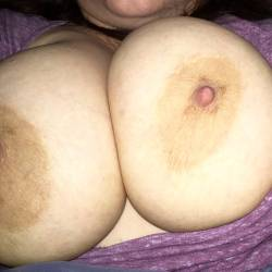 Large tits of my wife - My wifey