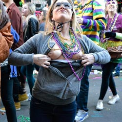 More From Bourbon Street - Big Tits, Flashing