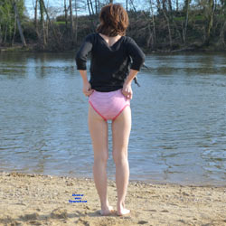 Panties Near The River - Beach