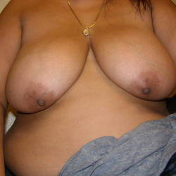 Large tits of my girlfriend - other half
