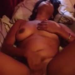 Hotel Room - Big Tits, Blowjob, Brunette, Masturbation
