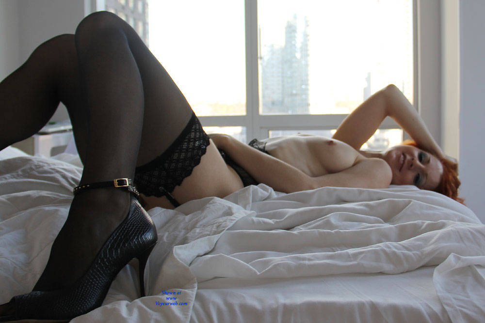 Pic #4 Vienna - Lingerie Dreams - Big Tits, Lingerie, Redhead