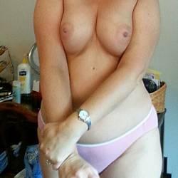 Medium tits of my wife - shelby