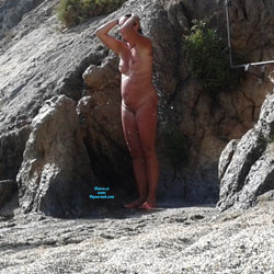 Nude Greece - Beach Voyeur