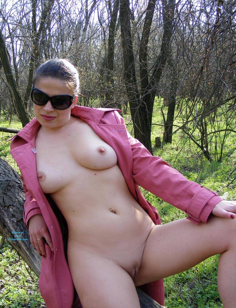 nude women woods Real amateur
