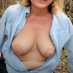 Large tits of my wife - Jane