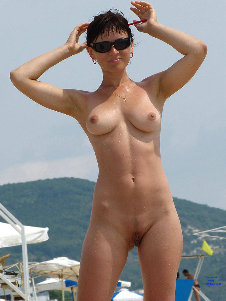 Pic #1 - Young Nudist Couple - Big Tits, Brunette Hair, Beach Voyeur , Same Offer As Last Month - A Couple Of High Resolution Pictures Will Be Sent To All Who Support My Work. Visitors Who Leave Mails After The End Of The Month Will Be Ignored Because They Would Not Be Able To Support My Post Supposedly.