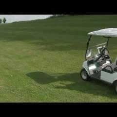 Golf Caddie's - Girl On Girl, Brunette, Big Tits, Outdoors