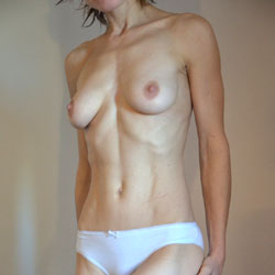 White Cotton Panties ! - Lingerie